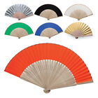 Chinese Bamboo Fan Folding Hand Fans for Outdoor Wedding Party Favors Decor Sun