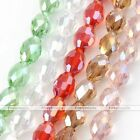8x11mm Crystal Glass Rhinestone Faceted Charm Loose Beads Craft Jewelry Making