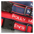 Personalised Woven Luggage Straps with lock secure your suitcase while traveling