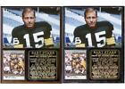 Bart Starr #15 Green Bay Packers Photo Card Plaque Super Bowl I on eBay