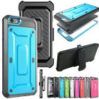 Belt Clip Holster + Screen Protector Rugged Full Body Case For iPhone 6 6S Plus