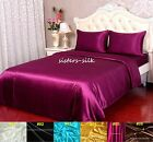 100% Silk Duvet Cover Fitted Sheet Pillowcase Set Size Single 22Momme Pure Silk