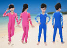 Kids Full Body Swimwear Clothing Stinger Suit Jumpsuit Surfing Swim Rash Guards