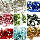 1000X Wholesale 3D Acrylic Nail Art Tips Stud DIY Decoration Glitter Rhinestones