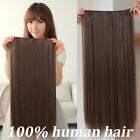 """New Arrival 100% Human Hair Weft Straight 16"""" 80G 100G No Clips Hair Extensions"""