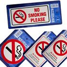 Choice of 5 Warning Sticker Labels - No Smoking, Premises Vehicle No Smoking