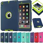 Heavy Duty Hybrid Rubber Shockproof Combo Hard Case Cover For iPad / Air / mini