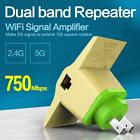 2.4G   5G Wireless Dual-band Wifi Routers 750Mbps Receiver Repeater Hot