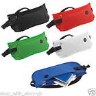 4 x WAIST MONEY TRAVEL BELT - ZIPPED PASSPORT WALLET POUCH EARPHONE PORT BUM BAG