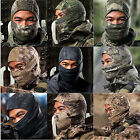 Unisex Tactical Tight Camo Balaclava Outdoor Ski Protection Full Face Neck Mask