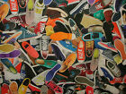 Trainers Sneakers Digital Printed Curtain Upholstery Quilting Craft Fabric
