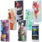 SLIM TPU CASE COQUE HOUSSE DESIGN AVEC MOTIF CASE  COVER GLACE