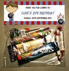 PERSONALISED BIRTHDAY LOLLY/LOOT BAG & TOPPER - Bowling Boy/Ten Pin