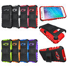For Samsung Galaxy J1 2016 / Amp 2 Case Hard & TPU Hybrid Armor Kickstand Cover