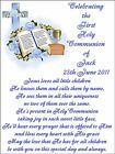 First Holy Communion Blue a Edible Icing Cake Topper Rectangle 3 sizes