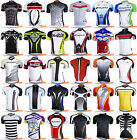 Nuckily Men's Bike Summer Sports Anti-UV Cycling SS Jersey Top Short Sleeves
