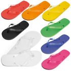 COLOURFUL UNISEX MENS WOMENS GIRLS BEACH FLIP FLOPS FLIPFLOPS SANDALS SHOES SIZE