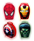 Marvel Super Hero 3D LUNCH BAGS - Avengers Characters/Kids/School/Box/Gift