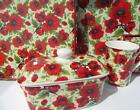 Poppy Flower Tableware Mugs - Butterdish - Coasters - Placemats NEW