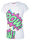 Darkside Comic Kaboom Pow Geek Alternative Fitted Top Girls Ladies T Shirt