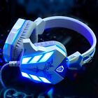 3.5mm LED Luce Gaming Cuffie Headset USB Mic Surround Stereo Per Laptop Computer