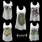 ॐ T shirt Om Trance Singlet indianer Indian Goa Psy Yoga Boho hippie Tank Top