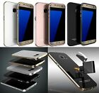 Ultra Thin Slim Tempered Glass Aluminum Cover Case For Samsung Galaxy S7 Edge