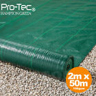 2m wide 100gsm weed control fabric ground cover membrane landscape mulch garden