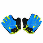 New CUBE Natural Fit Gloves Short Finger , Blue x Green