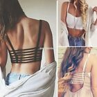 HOT Sexy Women Strap Backless Blouse Vest Cut Out Shirt Beach Tank Crop Tops AU