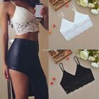 Sexy Women Cut-Out Bra Crop Bustier Bralette Corset Tank Blouse Strappy Top N98B