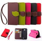 For LG Optimus L90 D405 D410 PU Leather Wallet Flip Soft TPU Cover Case Business