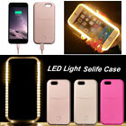 Luxury LED Light Up Selfie Luminous Cover Case For Apple iPhone 5 5s 6 6S Plus