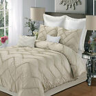 Isabella Champagne 9 Piece Comforter Bed In A Bag Set