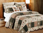 Greenland Sedona Multi Colored Bonus Quilt Set