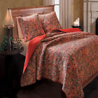 Greenland Persian Quilt & Sham Set,Twin, Full/Queen Or King