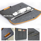 "Felt Sleeve Laptop Case Cover Bag for Apple MacBook Air Pro 11"" 12"" 13"" iPad Pro"