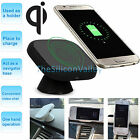 360 Rotate Qi Wireless Car Charger Charging Pad Mount Holder for Samsung S7/Edge