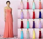 Chiffon Sweetheart Evening Party Prom Bridesmaid Formal Women's Dress Size 6-22
