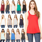 Bella+Canvas Womens Flowy Racerback Sleeveless Relaxed Fit T