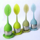 Tea Infuser Loose Tea Leaf Strainer Herbal Spice Silicone Filter Diffuser Cute