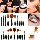 New Queen Toothbrush Shaped Foundation Power Makeup Oval Cream Puff Brushes
