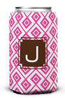 Dabney Lee Lucy Single Initial Can Koozie
