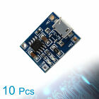 5/10x 5V Micro USB 1A TP4056 Lithium Battery Charging Board Power Charger Module