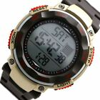 DW446C Black Band Round Date Alarm BackLight Black Bezel Men Women Digital Watch