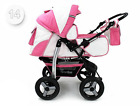Baby Pram Stroller Pushchair Car Seat Carrycot  Travel System Buggy+ FREEBIES <br/> DIAPER BAG RAIN COVER,MOSQUITO NET,TRAY,CUP HOLDER