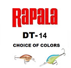 RAPALA ( DIVES TO ) DT-14, CHOICE OF COLORS