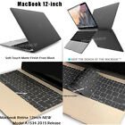 """Retina 12-inch Soft-Touch Hard Case Keyboard Cover For Macbook 12"""" Retina A1534"""