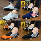 New Fashion Men's Casual Flats Loafers Sneakers Slip Ons Canvas Board Shoes D5