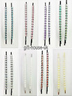 NEW HAIR GRIP WEDDING PARTY BRIDAL PROM PINS PARTY DIAMANTE WOMEN HAIRPINS  B3